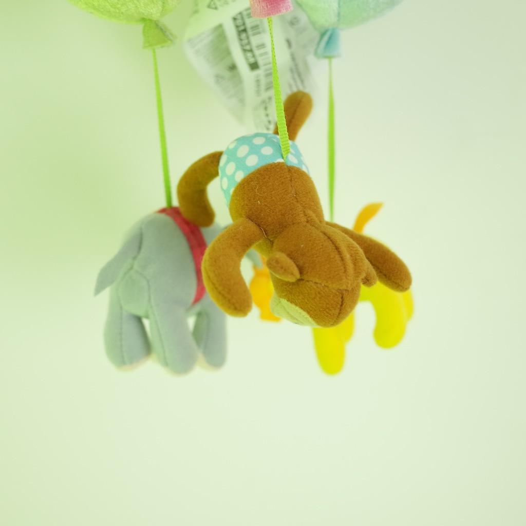 定做动物王国毛绒玩具,热气球动物挂件,儿童幼儿园配饰图片