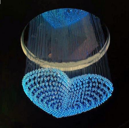2016年最新款3Dv吊灯吊灯光纤开头,LED光纤的b爱心cad字体图片