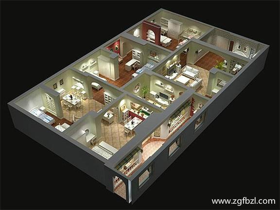 东莞家具展厅定制设计 办公家具展厅 家私中式