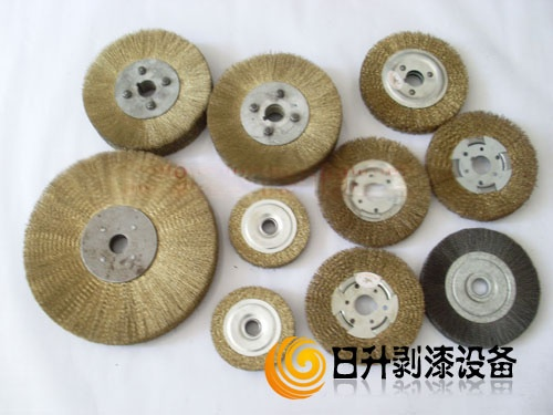 钢丝刷,镀铜轮,不锈钢丝轮,剥漆铜丝轮,v钢丝橡胶刷,铜丝钢丝轮,防滑耐高温打磨钢丝图片