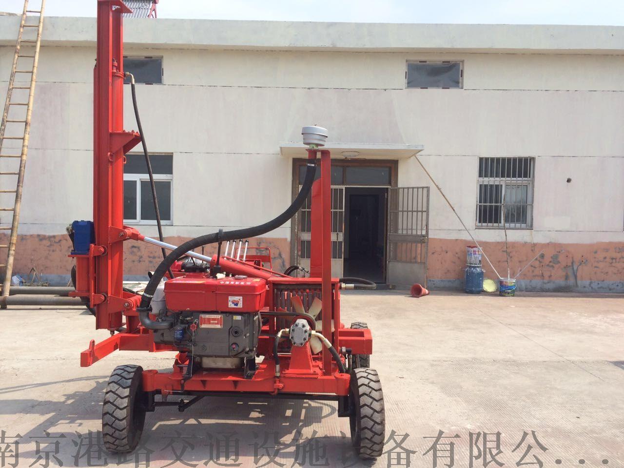 供应波形护栏板液压钻孔机,公路护栏板液压钻孔机,南京港路.图片