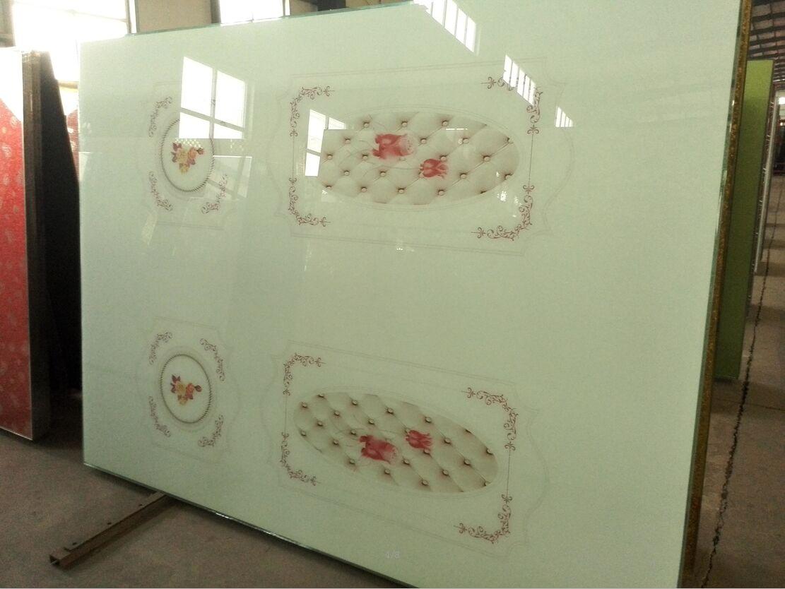 佳汇超白玻璃软包衣柜门橱柜推拉门