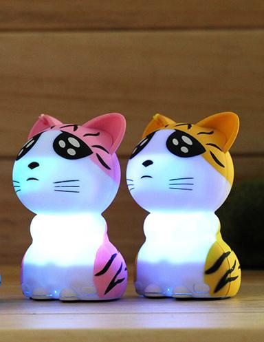 [供应]最迷你可爱的便携式蓝牙音箱带插卡功能的小猫咪 商标:中性