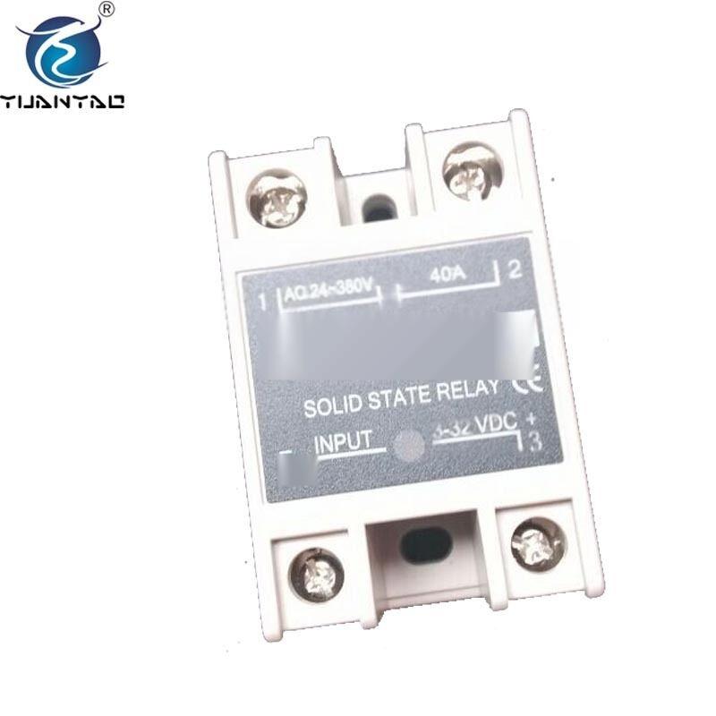 工业级固态继电器 ssr热继电器 小型24v固态继电器批发图片
