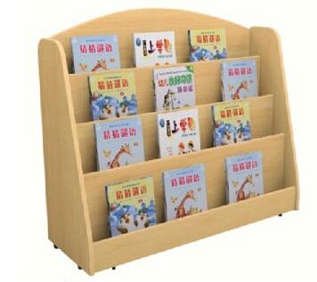 木制图书架 原木书柜 幼儿园书架【批发价格图片