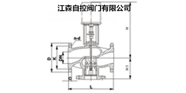 江森RA3000+VG9000价格电动调节阀【法兰,埃菲尔铁塔设计图纸图片