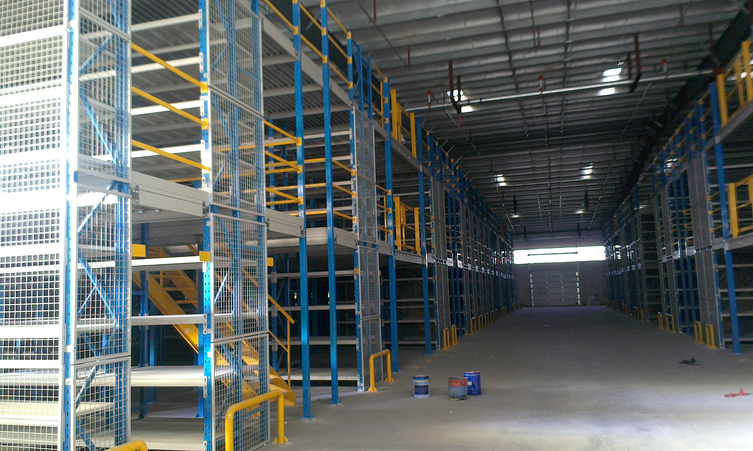 [供应]能达中小仓库阁楼平台设计 钢结构仓储阁楼货架 商标:能达 产地