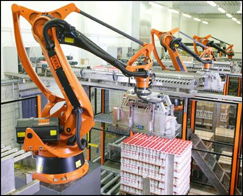 码垛机器人的几大优势