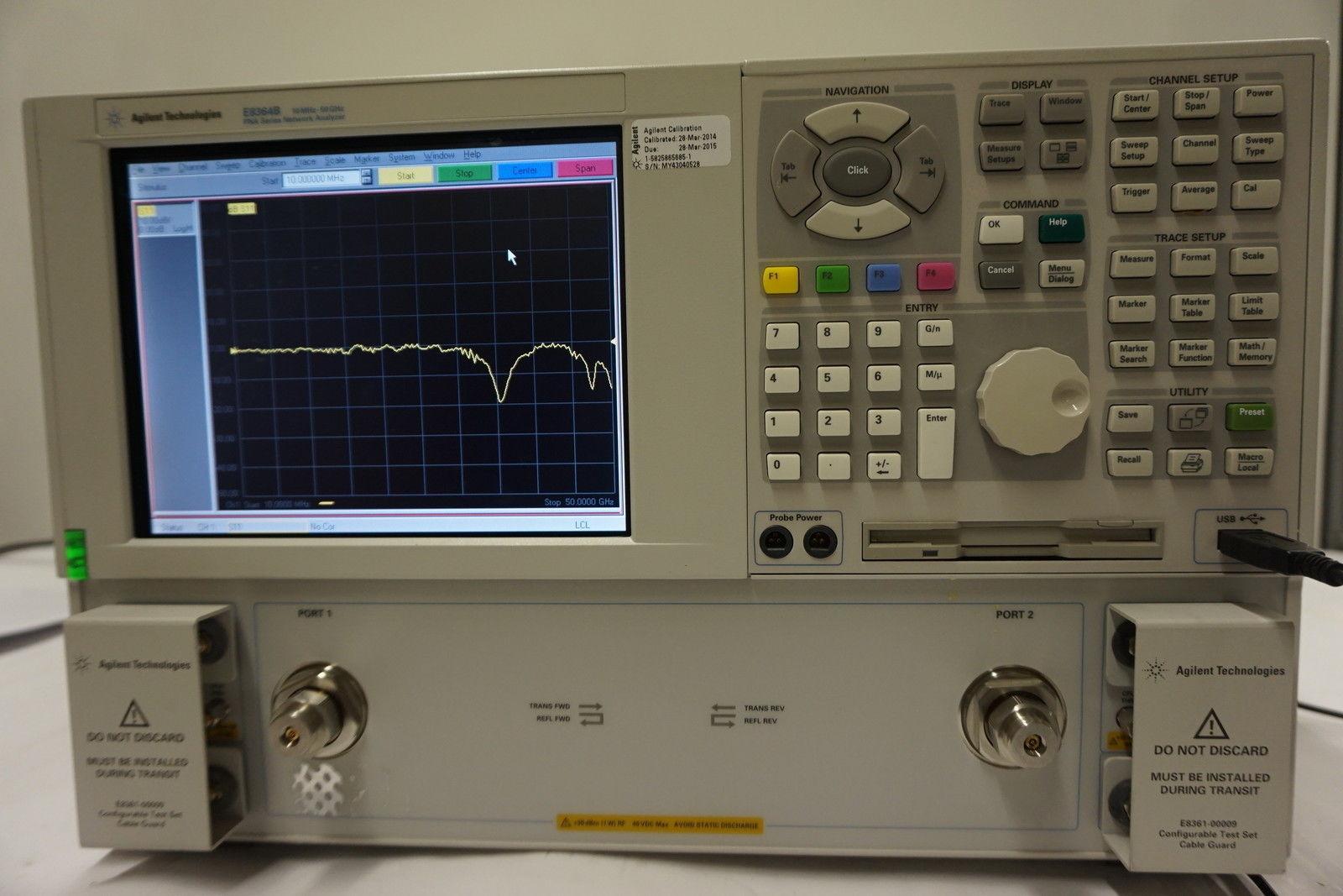 agilent e8364b-50g 矢量网络分析仪