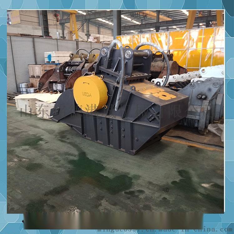 卡特挖掘机硬性石料粉碎机 破碎混凝土 铺路石38012632图片
