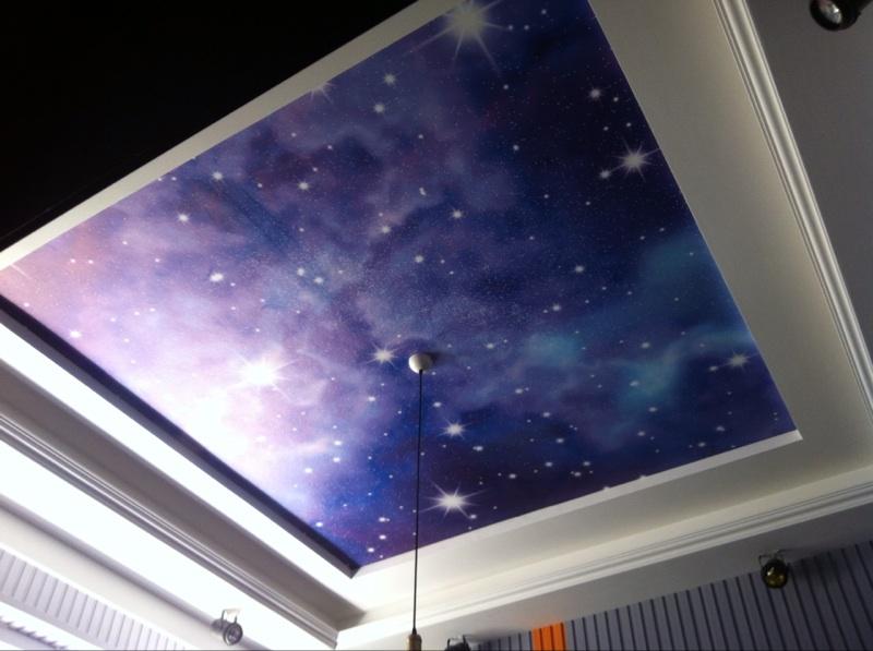 3d科幻宇宙星空主题墙纸壁画定制娱乐酒店ktv主题空间