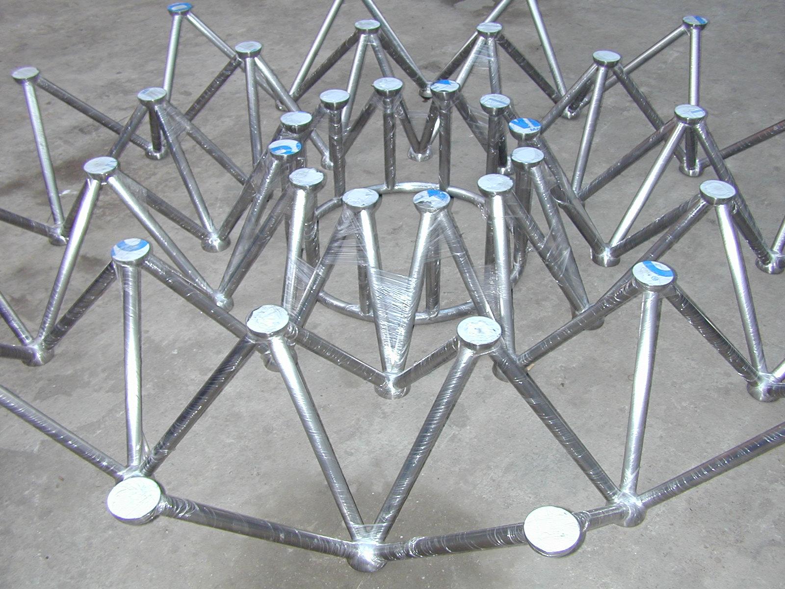 不锈钢五角星造型不锈钢茶几厂家价格|不锈钢