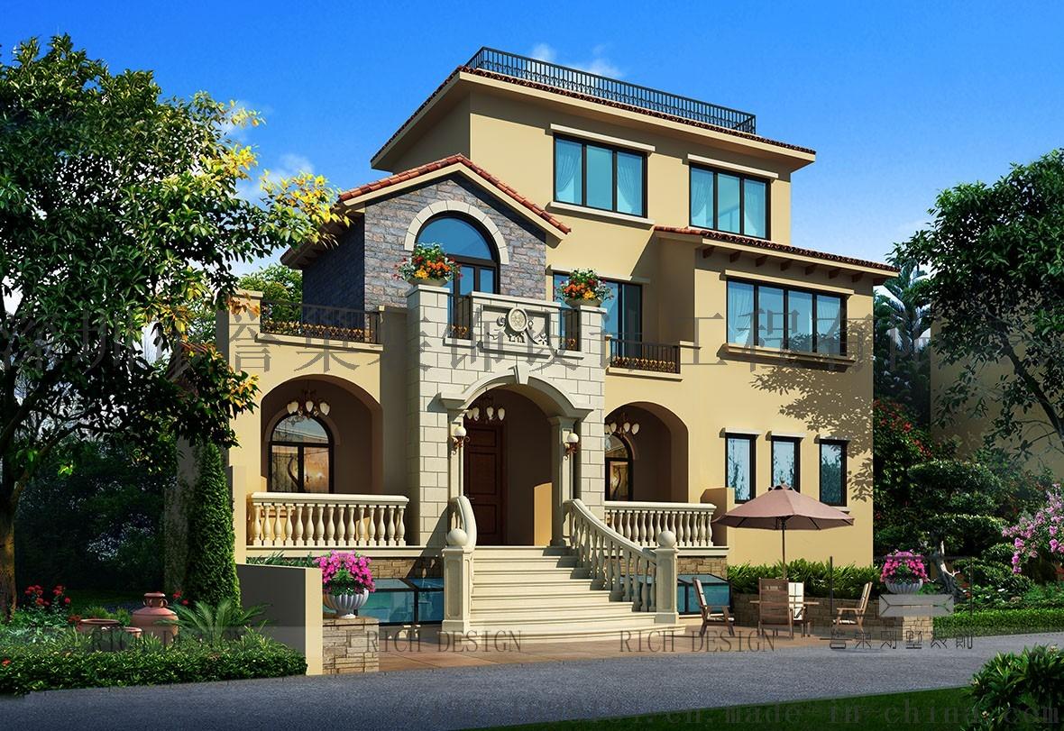 服务 设计服务 装修设计和装潢设计 > (誉巢)曦城别墅三期欧式风格