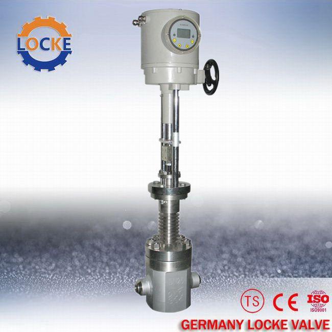 进口电动高压调节阀厂家   型    式 锻,铸直通式阀体 公称通径 dn15图片