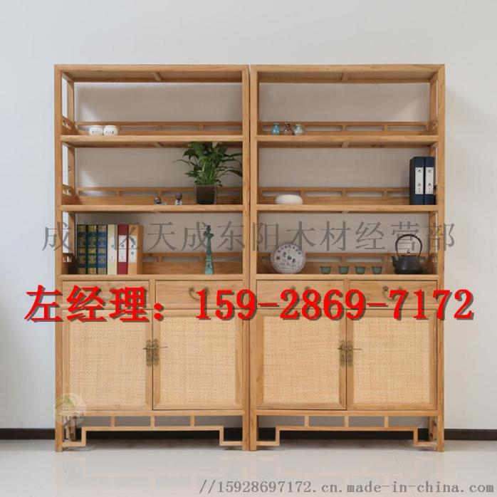 贵阳中式定制家具-贵阳森祥贵州榆木中式家具成都产业园家具图片