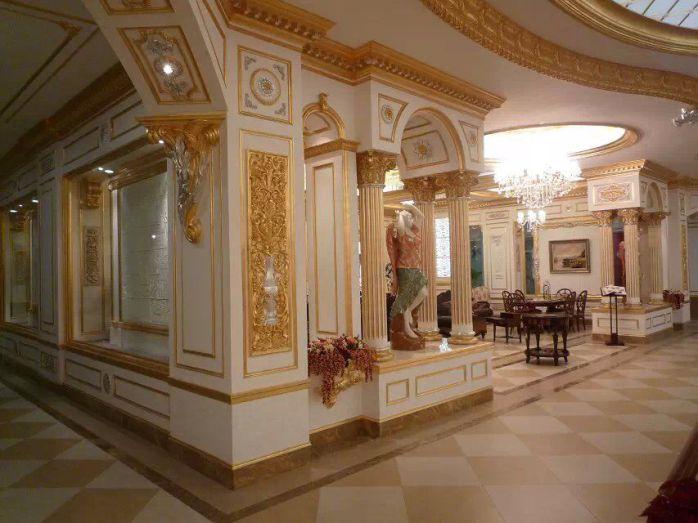 欧式玻璃钢罗马柱图片