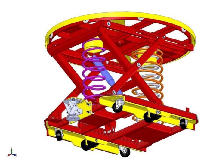 75kw索斯沃斯sjg1-0.85固定式液压升降工作台 载重1000kg,功率0.75kw图片
