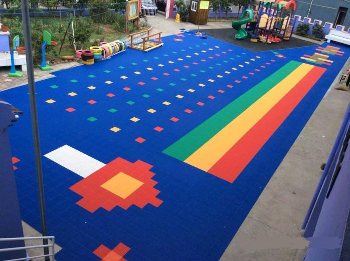 幼儿园悬浮地板设计图 图片合集图片