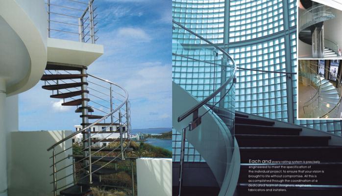 建筑圆形楼梯徽派建筑楼梯布局图片9