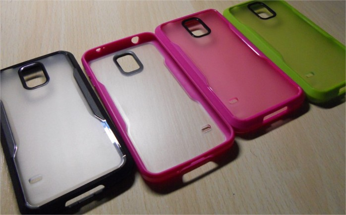 s5的双色手机套