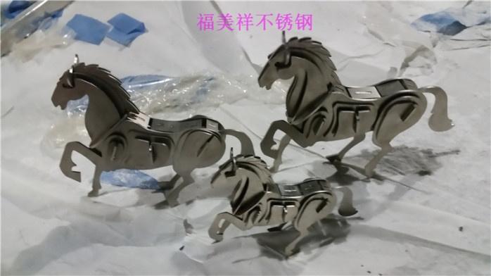 不锈钢金属工艺品动物厂家定做直销