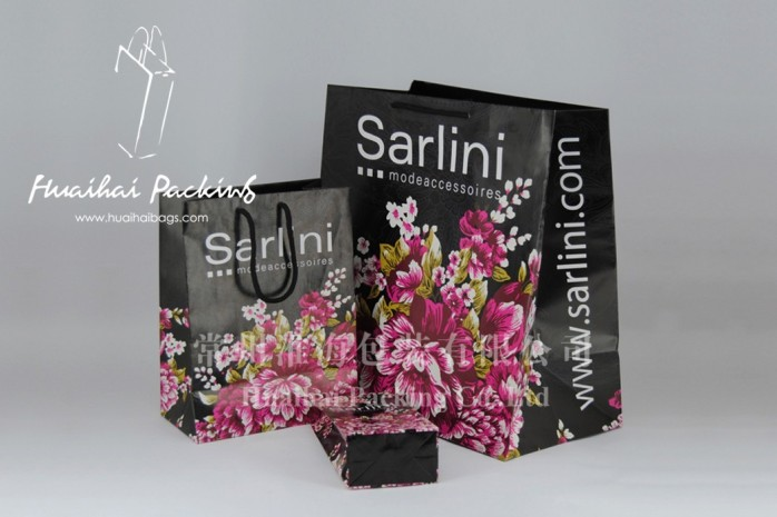 sarlini围巾包装袋