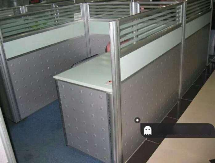木森雅轩n30秘书组屏风工位,**格子间,**办公桌图片