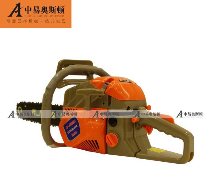 油锯强导板7200伐木锯泵体光头专业汽油链锯v油锯管道泵链条图片