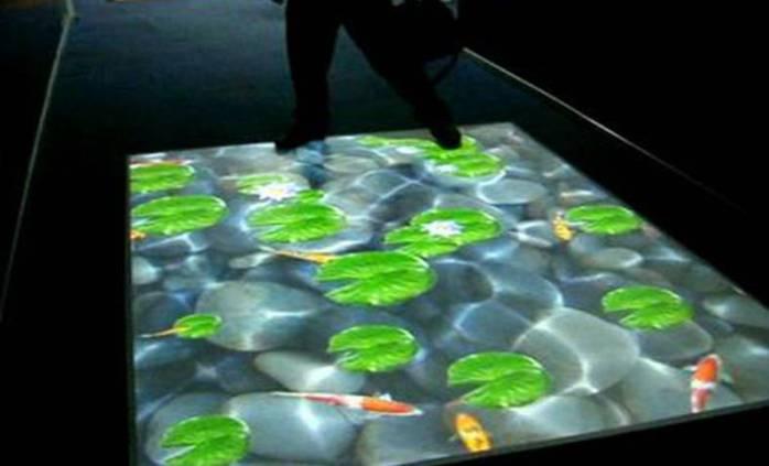 云南昆明虚拟活体成像,投影互动融合软件,全息