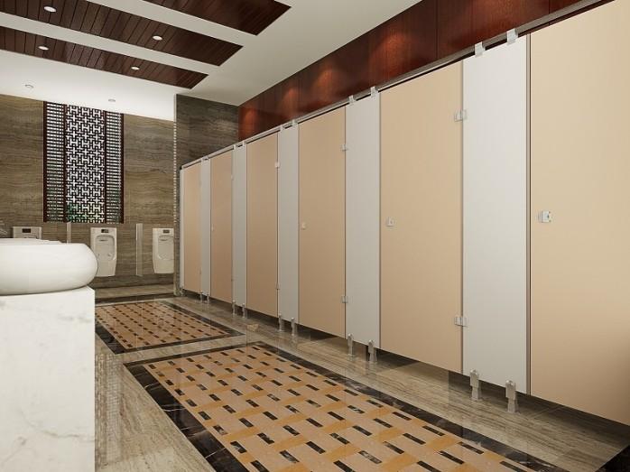 公共卫生间隔断 商场卫生间隔断 游乐场卫生间隔断