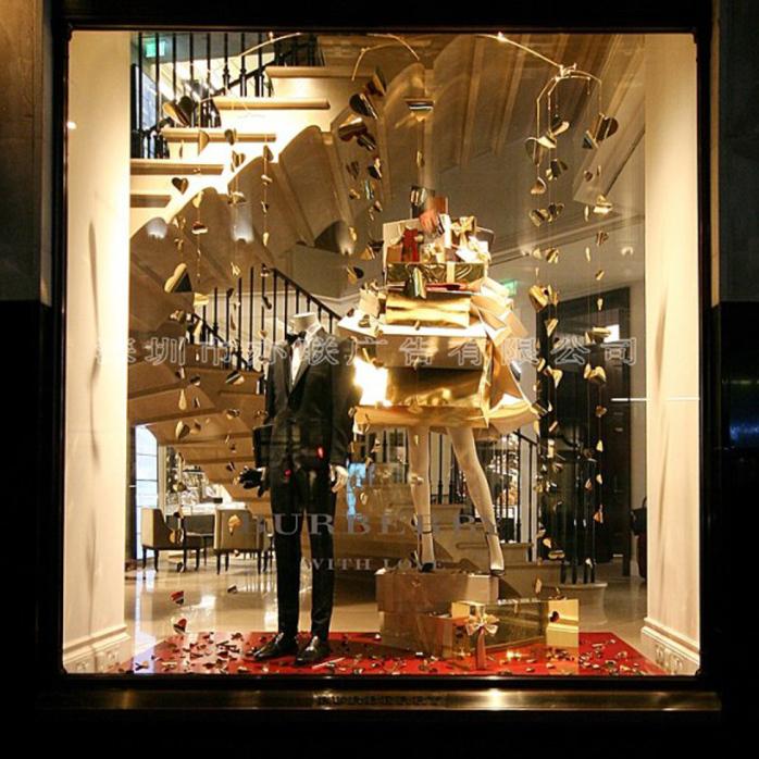 10年专注品牌橱窗陈列,橱窗展示,服装橱窗陈列,珠宝橱窗陈列,钟表橱窗
