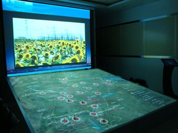 三维立体沙盘 多媒体沙盘 声光电沙盘 互动沙盘图片