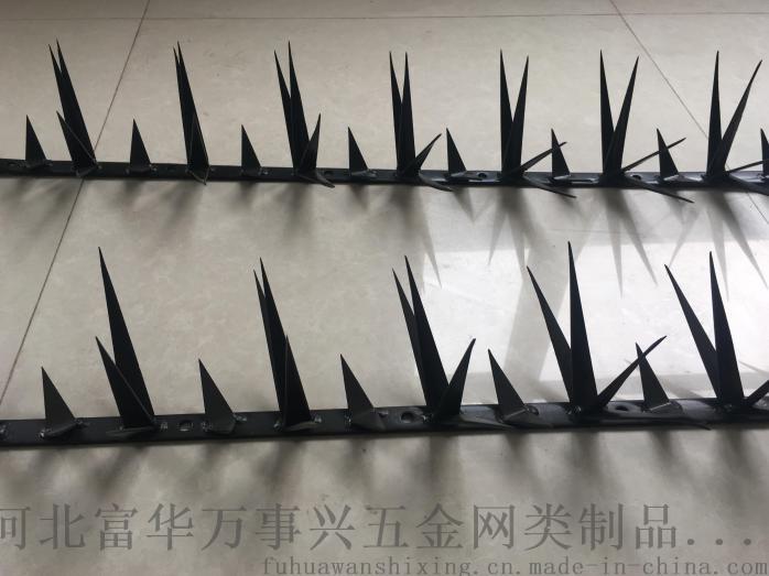 伞兵钩刺囹�a_防鸟刺钉围墙防盗刺护栏刺钉