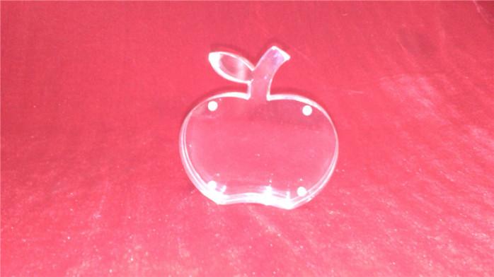 苹果形状亚克力相框有机玻璃相框压克力相框