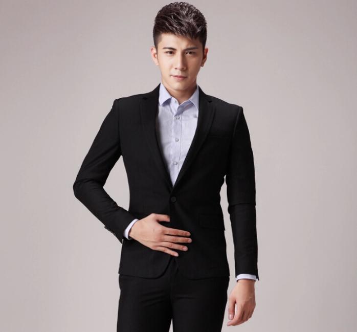 职业形象男_职业男干练发型打造最时尚帅气的职业男士形