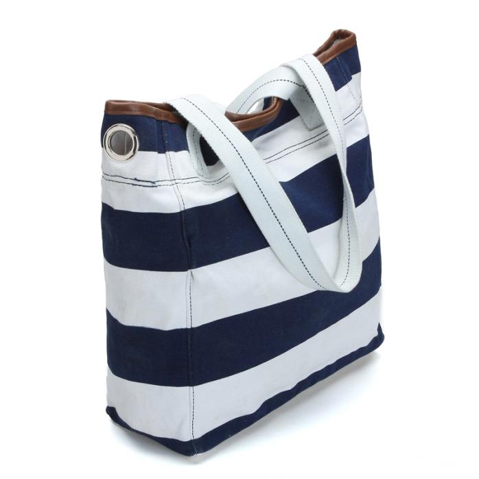 广州手提包_FLY002蓝白条纹帆布包(女装休闲系列)【价格,厂家,求购 ...