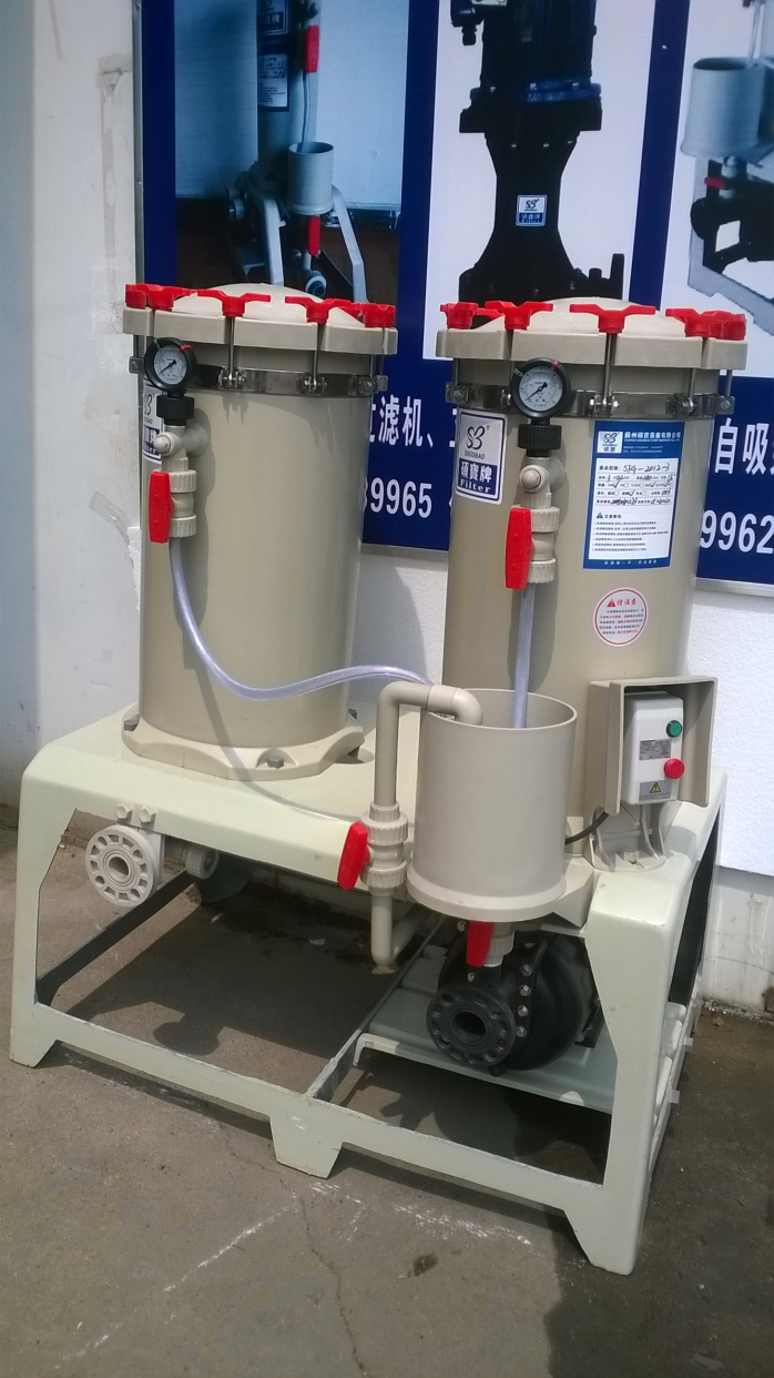 30吨大流量过滤机 硫酸化学药液过滤机sf-3018-3