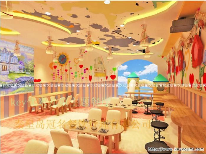 key优米儿童主题餐厅餐饮加盟