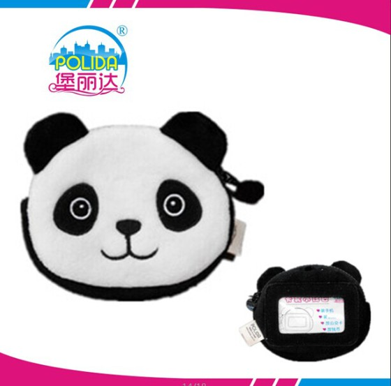 厂家直销可爱动物卡通小熊猫零钱包