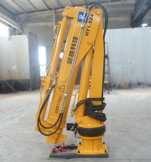 8吨车载液压小型吊机 皮卡吊 小吊机价格图片