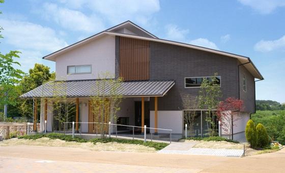 太阳能屋顶发电房屋 轻钢体系住宅图片