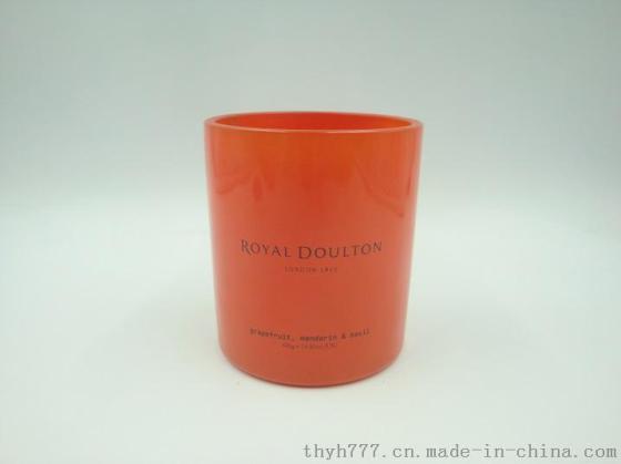 厂家销售玻璃烛台,喷涂加工,丝网印刷,烤花等深加工玻璃制品