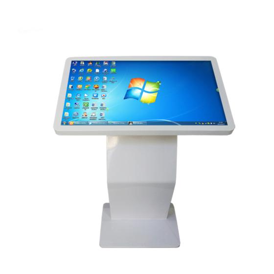 触摸电脑一体机_46/55寸超薄立式一体机多点触控自助查询电脑触摸屏卧式一体机广告机