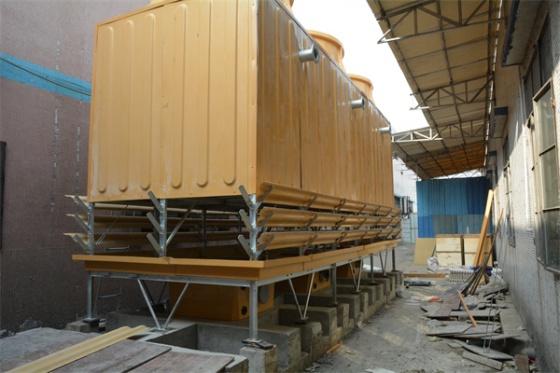 新品折扣,500吨菱电横流冷却塔,500吨超低噪音型