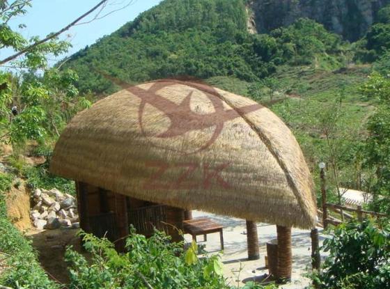 仿真茅草瓦-马尔代夫度假茅草屋-茅草屋顶