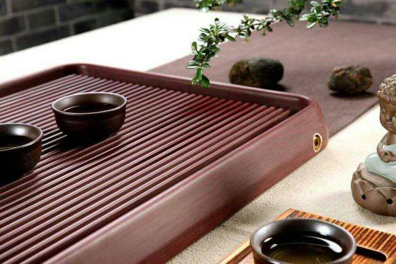 海棠红电木茶盘批发,实木茶盘价格,功夫茶盘