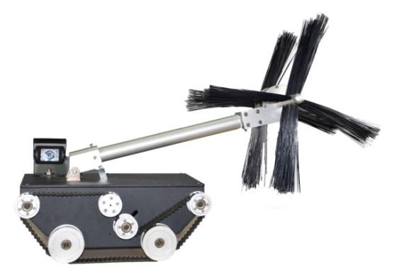 空调清洗 清扫机器人 管道清洗 风管清洗 保洁机器人 主风管清扫机