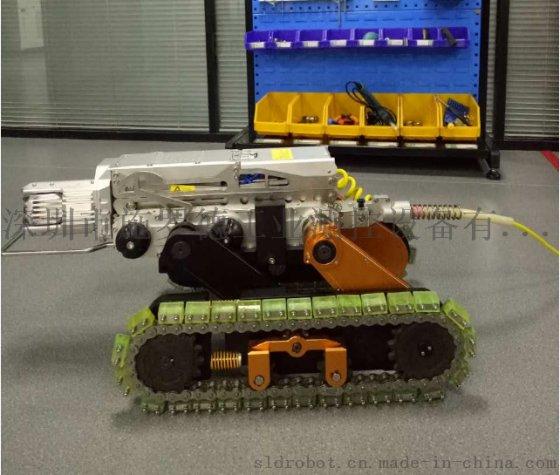 履带管道爬行检测机器人,管道修复清淤机器人,管道CCTV检测www.