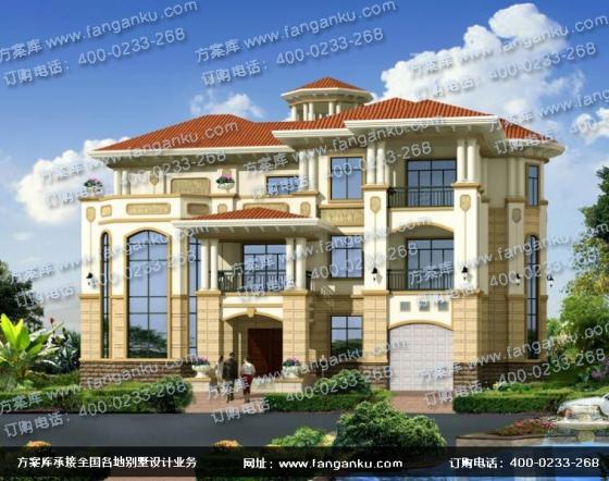 独栋三层别墅设计