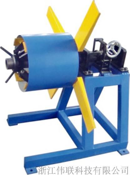 厂家直销液压开卷机 5t/8t/12t简易装料架 自动双头重型液压放料机图片